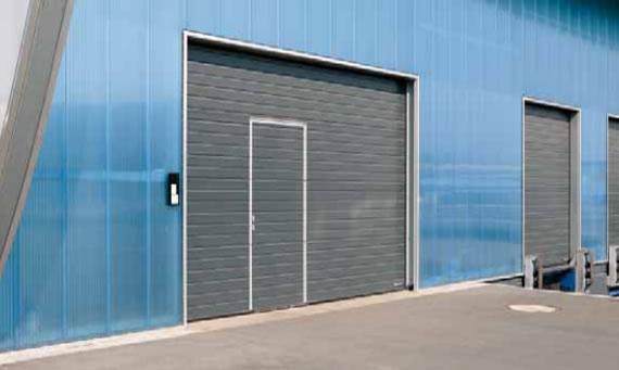 Puertas industriales peatonales chipdigital puertas for Puertas industriales